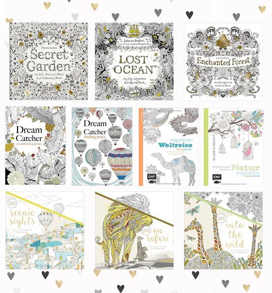 Die besten Ausmalbücher – magnoliaelectric