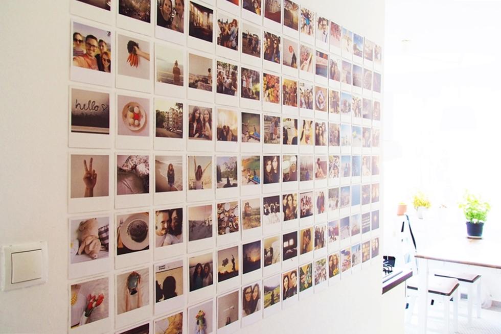 Bilderwand Im Polaroidstil Magnoliaelectric
