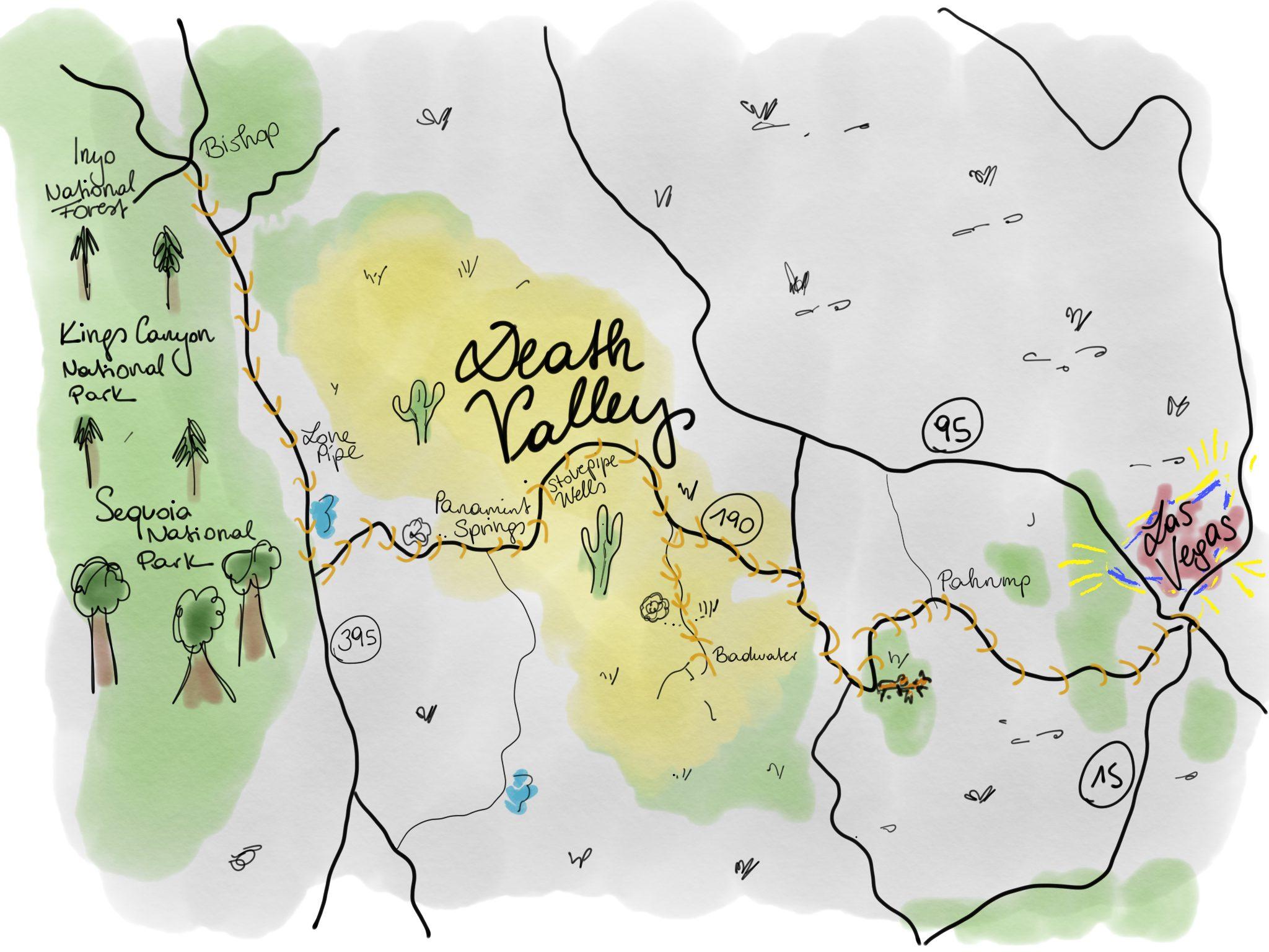 USA Roadtrip: Death Valley & Las Vegas – magnoliaelectric
